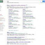 Google upravuje sitelinks