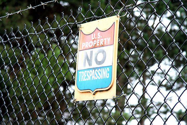 no-trespass