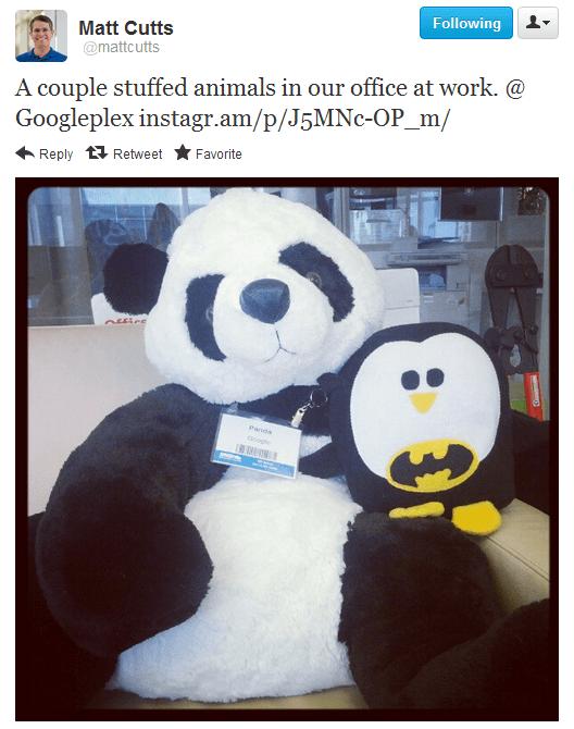 Penguin na Twitteru Matta Cuttse