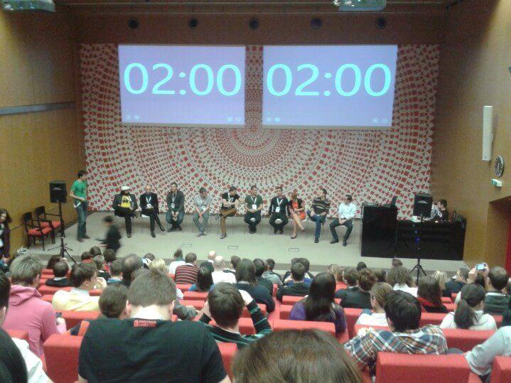 Panelová diskuse před koncem Internet Marketing 2013.