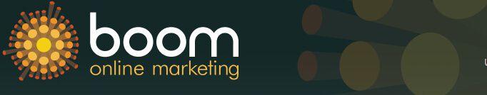 Boom marketing logo