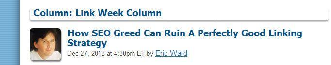 Eric Ward článek
