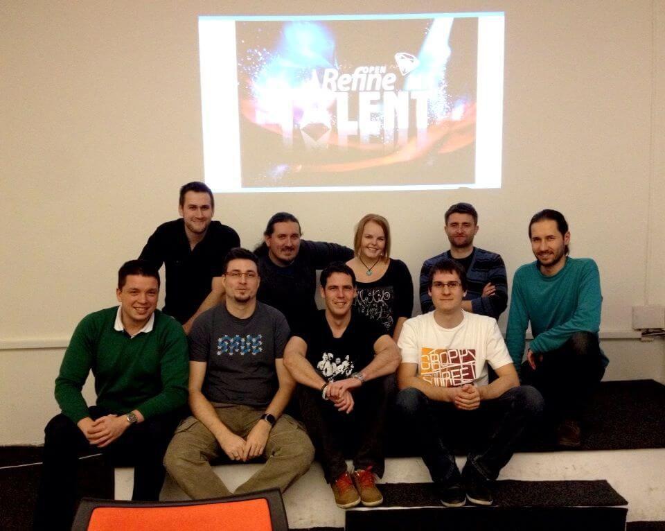 Účastníci školení OpenRefine.