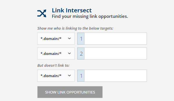 Link Intersect Report