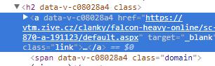 Zdrojový kód pro externí odkazy