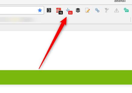 Domain Rank vidíte přímo v ikoně rozšíření